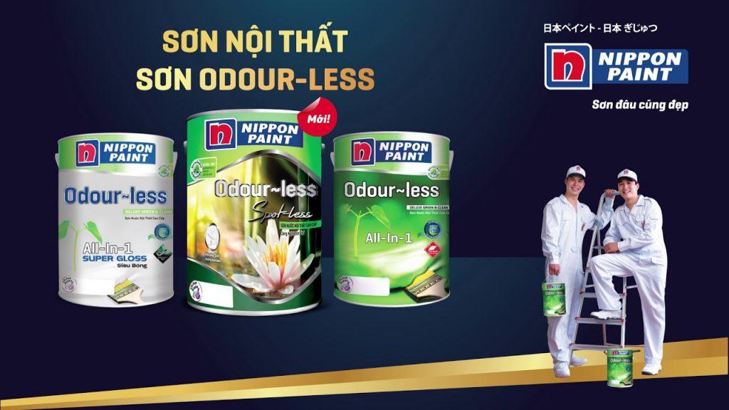 Tìm hiểu về các loại sơn nội thất Odour-less