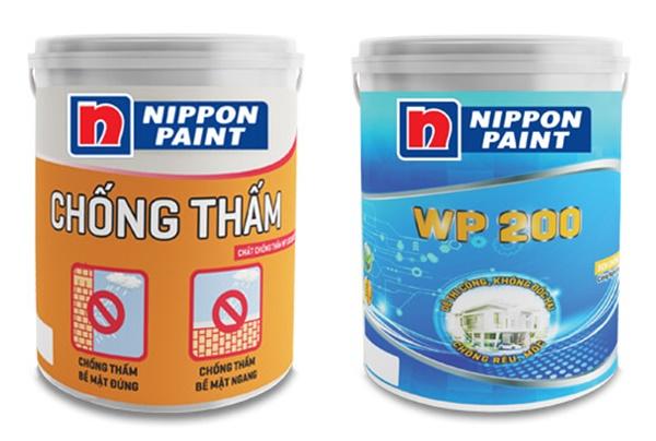 Đặc điểm hai loại sơn chống thấm Nippon