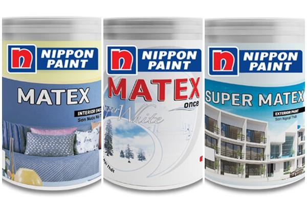 Sơn Nippon Matex có những loại nào?