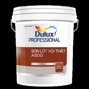 SƠN LÓT NỘI THẤT Dulux Professional A500 Bề mặt Mờ (18l)
