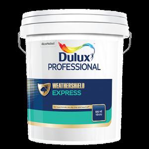 Dulux Professional Weathershield Express Bề mặt Bóng Mờ (18l)