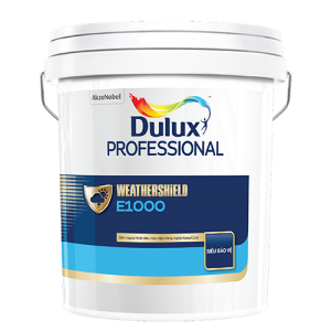 Dulux Professional WEATHERSHIELD E1000 MỜ (18l)