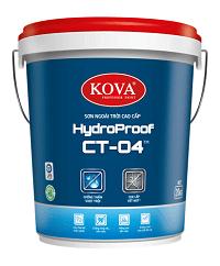 Sơn ngoài trời cao cấp KOVA HydroProof CT-04TM (20kg, 4kg)