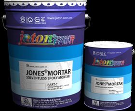 JONES®MORTAR sơn epoxy 3 thành phần cho xưởng công nghiệp