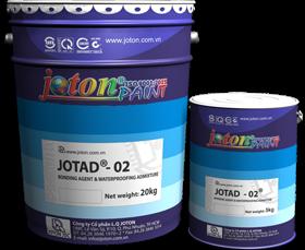Phụ gia chống thấm và tác nhân kết nối Jotad-02 (25kg, 5kg/can)