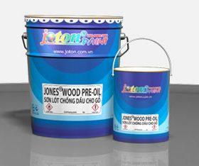 JONES® WOOD PRE-OIL – Sơn lót gỗ