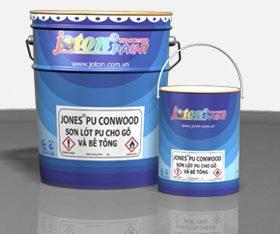 JONES®PU CONWOOD: Sơn lót PU cho gỗ & bê tông