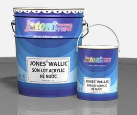 JONES®WALLIC: Sơn lót acrylic hệ nước