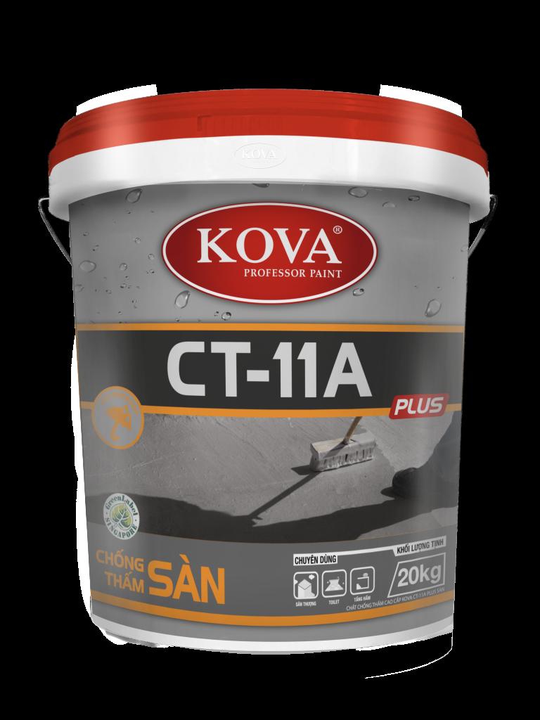 Chất chống thấm cao cấp KOVA CT-11A Plus Sàn (20kg, 4kg, 1kg)
