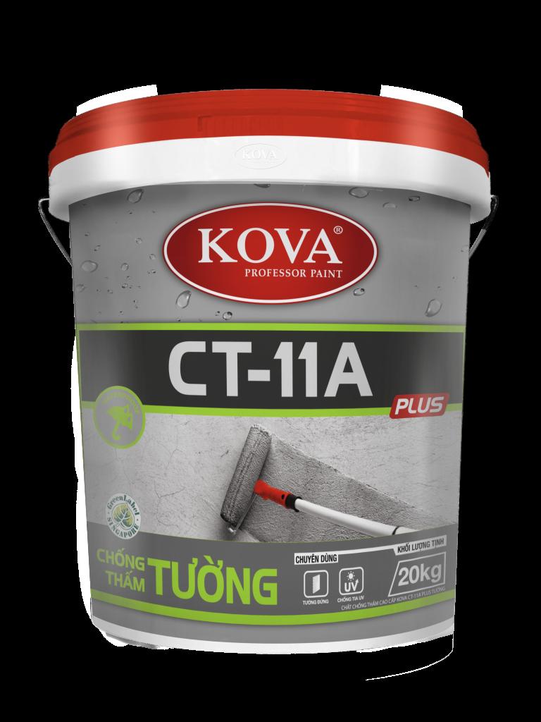 Chất Chống Thấm Cao Cấp KOVA CT-11A Plus Tường (20kg, 4kg, 1kg)