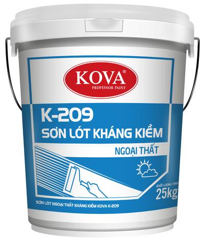 Sơn lót kháng kiềm ngoại thất Kova K 209 (20kg, 4kg)