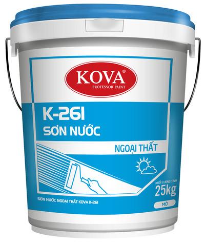 SƠN NƯỚC NGOẠI THẤT KOVA K-261 (20kg, 4kg)