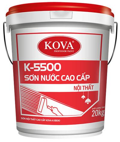 SƠN NỘI THẤT CAO CẤP KOVA K-5500 (20kg, 4kg)