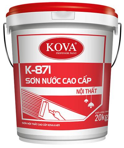 SƠN NỘI THẤT CAO CẤP KOVA K-871 (20kg, 4kg)