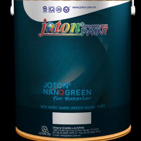 Sơn ngoại thất Joton Nano Green (20kg, 4kg, 1kg)