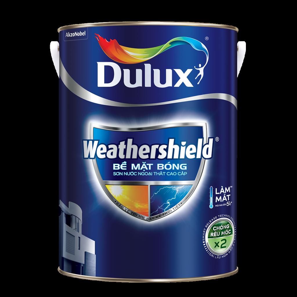 Dulux Weathershield Bề Mặt Bóng (15l, 5l, 1l)