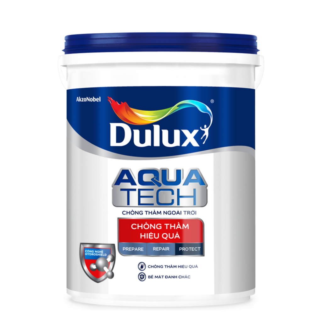 Chất Chống Thấm Dulux Aquatech Max (20kg, 6kg)