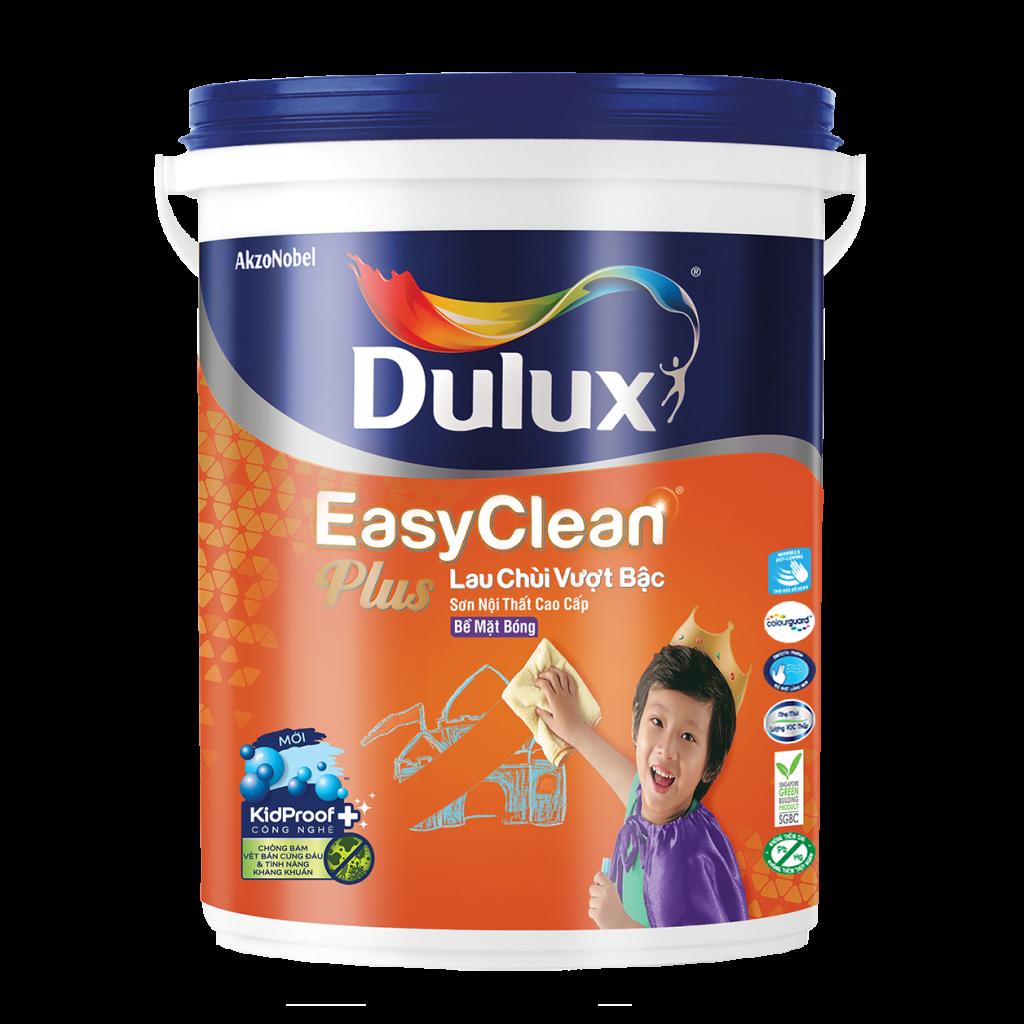 Dulux EasyClean Plus Lau Chùi Vượt Bậc Bề Mặt Bóng (5l)