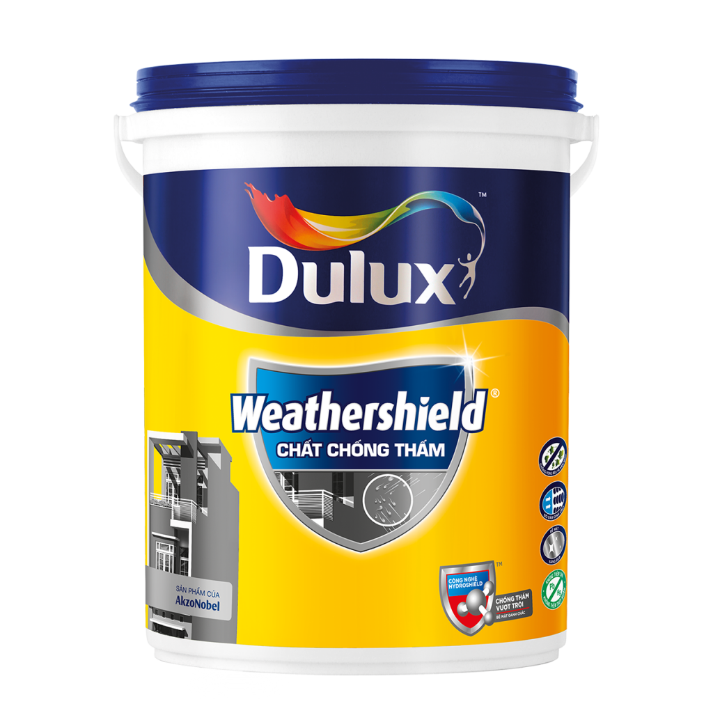 Chất Chống Thấm Dulux Weathershield Waterproof (5l)