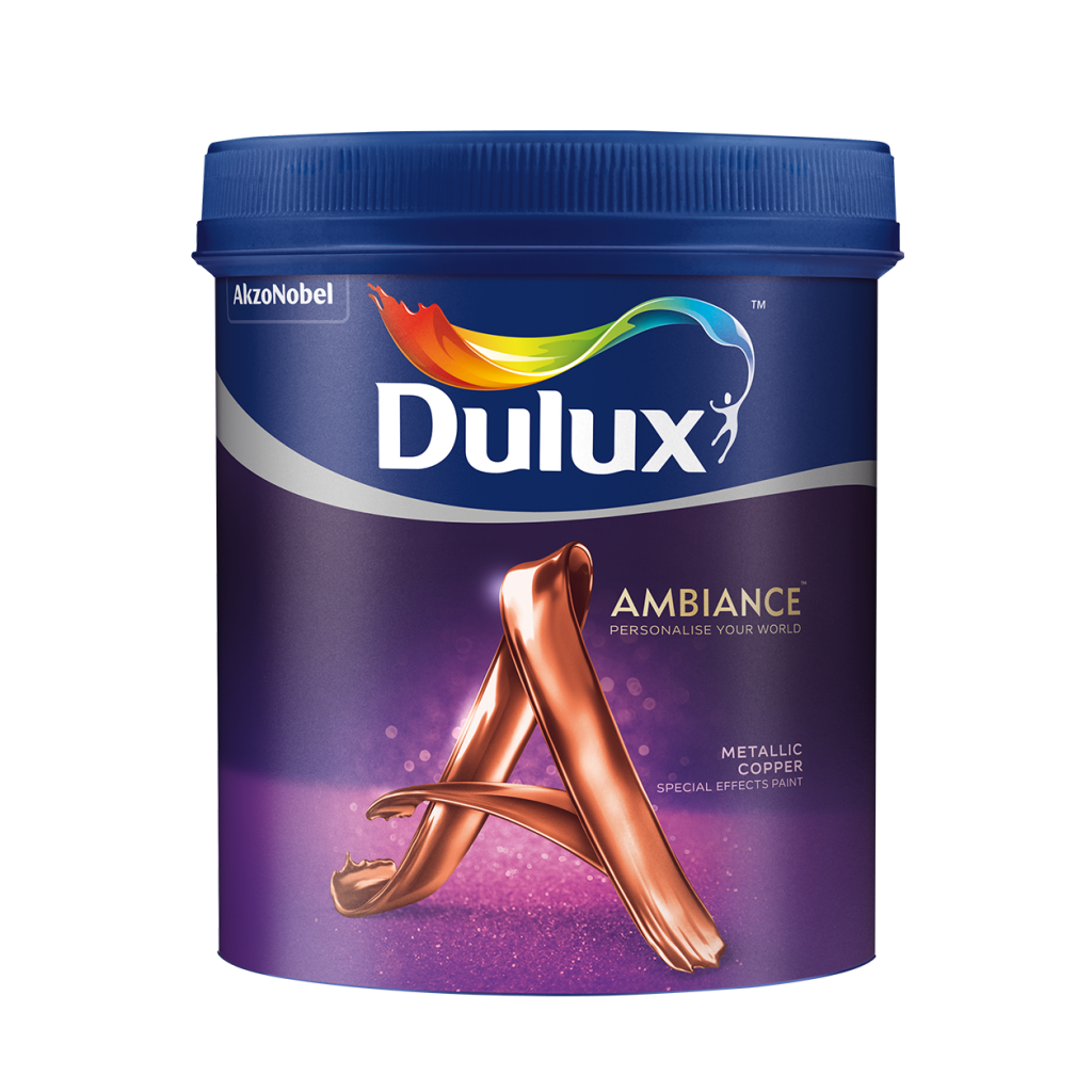 Dulux Ambiance Special Effects Paints (Metallic Copper) (1l)