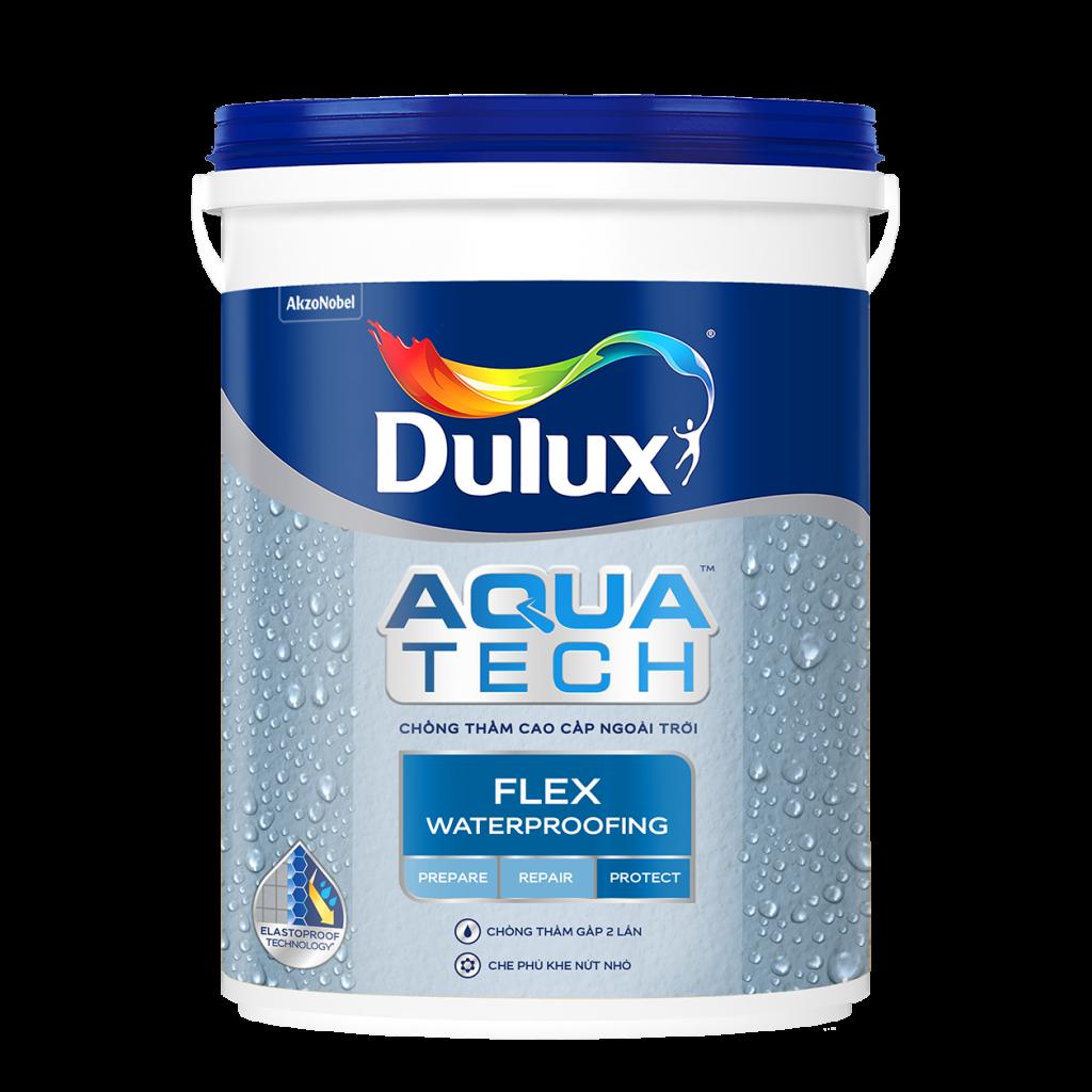 Chất Chống Thấm Dulux Aquatech Flex Waterproofing (20kg, 6kg)