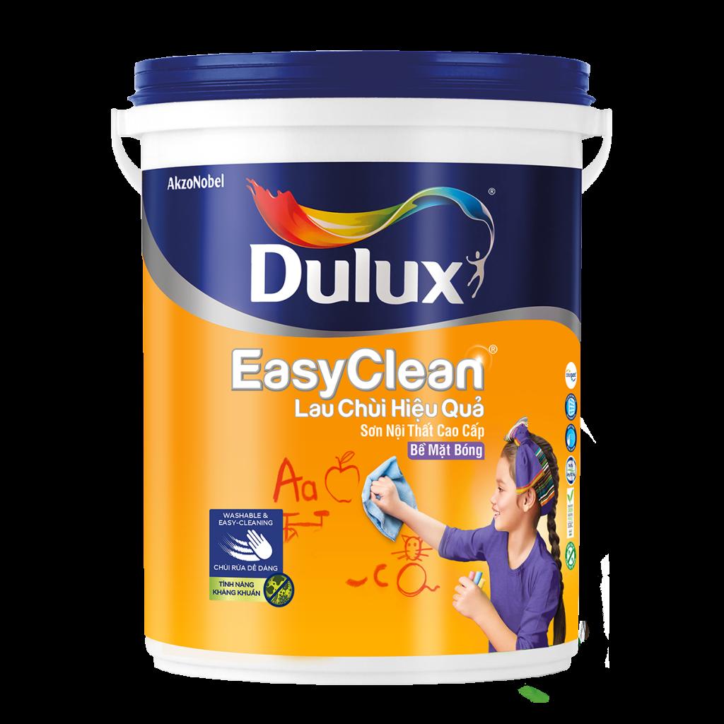 Dulux Easyclean Lau Chùi Hiệu Quả Bề Mặt Bóng (18l, 5l,1l)