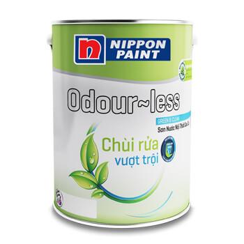 Sơn Nippon Odour-Less Chùi Rửa Vượt Trội (18l, 5l, 1l)