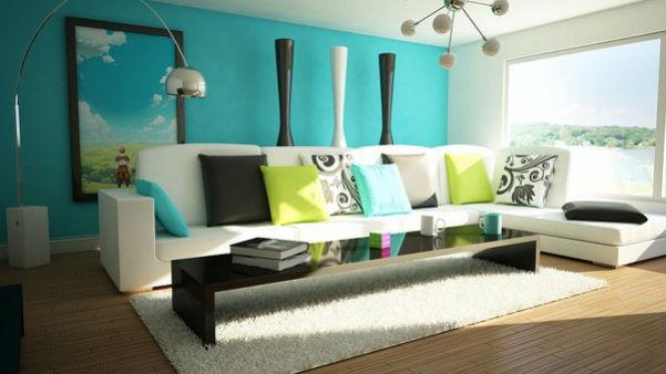 Phòng khách nên chọn màu sơn nội thất Nippon nào?