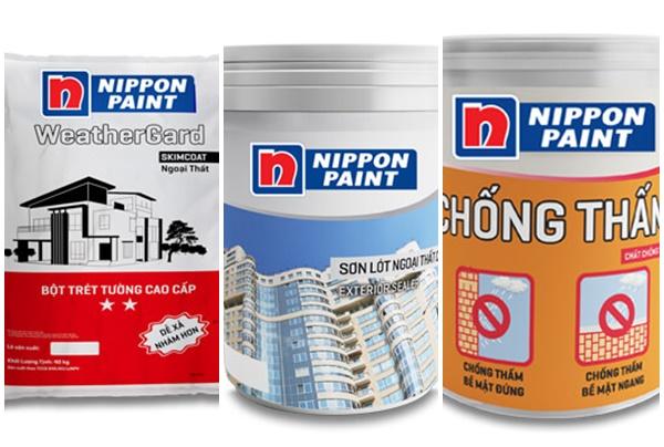 Vào mùa mưa, hãy lựa chọn những loại sơn chống thấm Nippon này