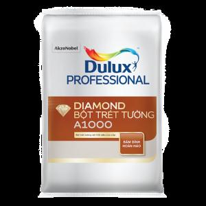 BỘT TRÉT TƯỜNG NỘI THẤT DIAMOND A1000 Bề mặt Mờ (40kg)