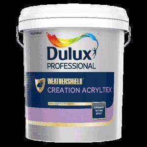 WEATHERSHIELD CREATION ACRYLTEX Bề mặt Mờ (25kg)