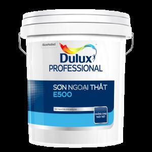 SƠN NGOẠI THẤT Dulux Professional E500 Bề mặt Mờ (18l)