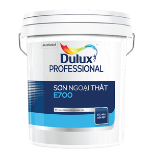 SƠN NGOẠI THẤT Dulux Professional E700 Bề mặt Mờ (18l)