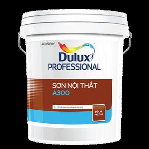 SƠN NỘI THẤT Dulux Professional A300 Bề mặt Mờ (18l)