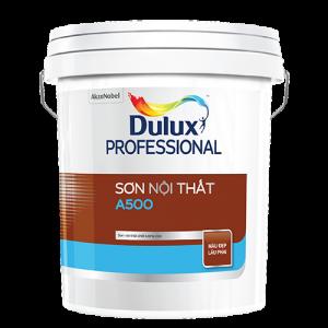 SƠN NỘI THẤT Dulux Professional A500 Bề mặt Mờ (18l)