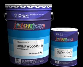 JONES®WOOD PUTTY sơn mịn bề mặt gỗ