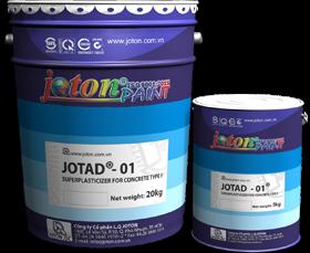 Phụ gia siêu dẻo cho bê tông Jotad-01 (25kg, 5kg/can)