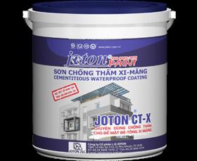 Sơn chống thấm xi măng JOTON CT-X (20kg và 4kg)