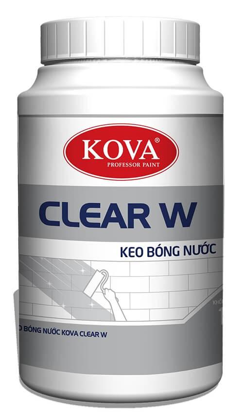 Keo bóng nước KOVA Clear W