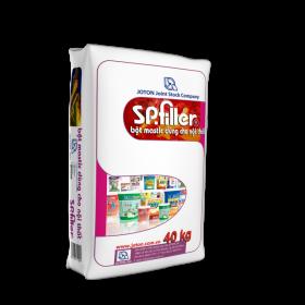 Bột bả nội thất SP Filler (40kg và 25kg)