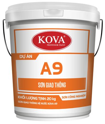 Sơn giao thông hệ nước KOVA A9 có phản quang