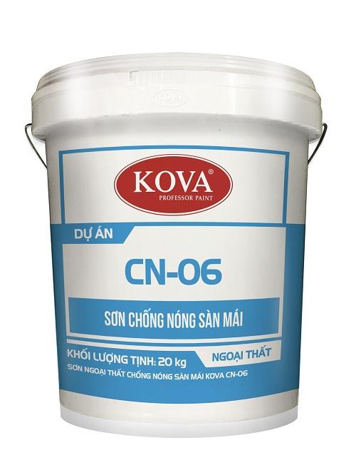 Sơn ngoại thất chống nóng sàn mái KOVA CN-06