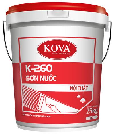 SƠN NỘI THẤT KOVA K-260 CAO CẤP (20kg, 4kg)