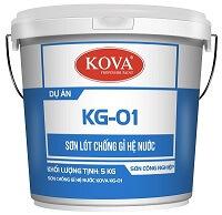 Sơn KG-01 – Sơn lót chống rỉ hệ nước Kova