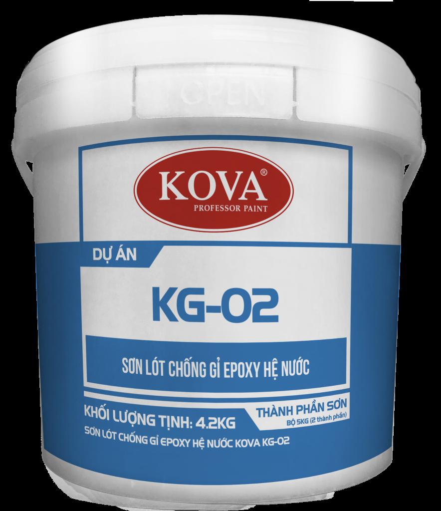 Sơn lót chống rỉ Epoxy hệ nước Kova KG-02