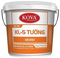 Sơn công nghiệp EPOXY KL-5T GOlD bóng sơn tường kháng khuẩn (20kg, 4kg)