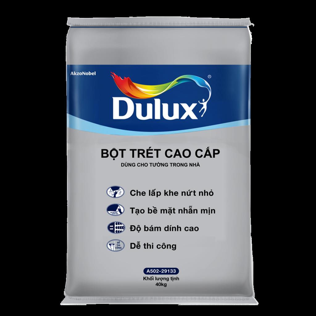 Bột Trét Tường Cao Cấp Trong Nhà Dulux (40kg)