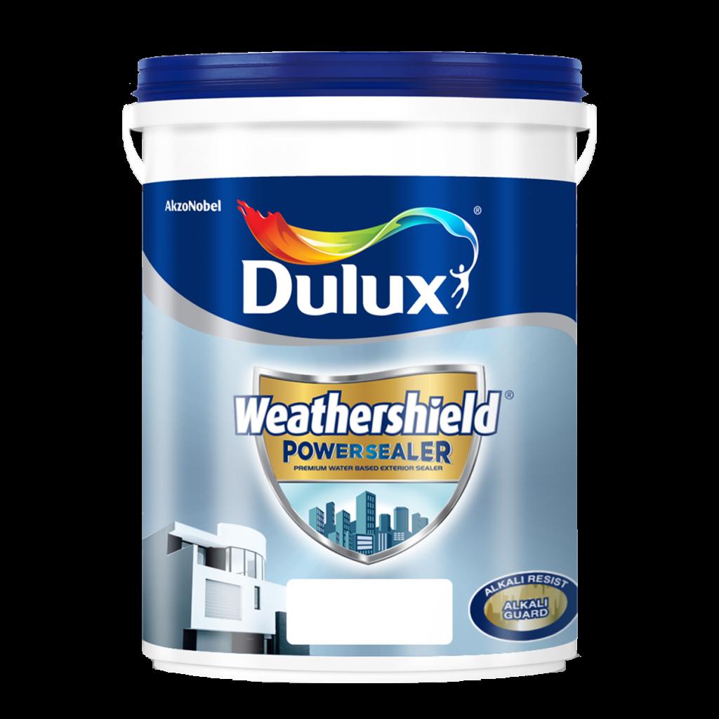 Sơn Lót Ngoại Thất Siêu Cao Cấp Dulux Weathershield Powersealer (18l, 5l)