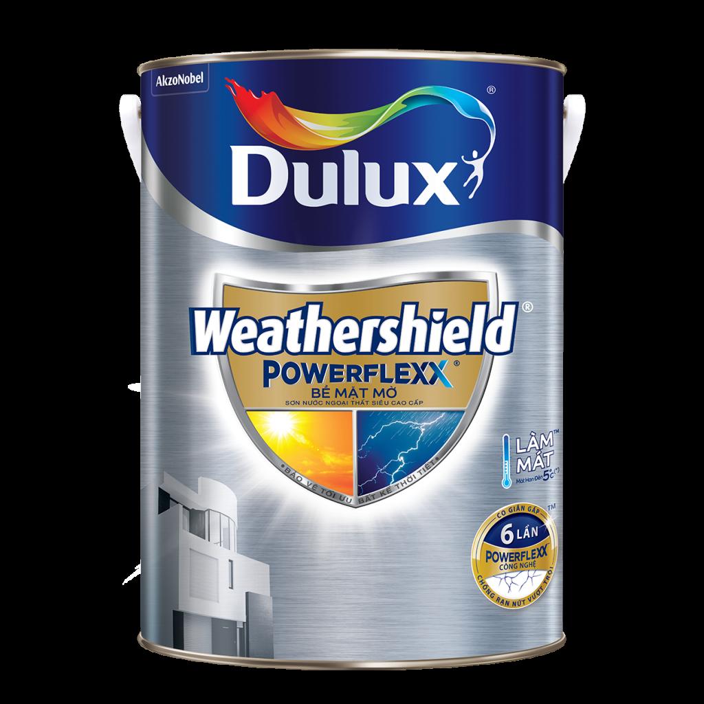 Dulux Weathershield Powerflexx Bề Mặt Mờ (5l, 1l)