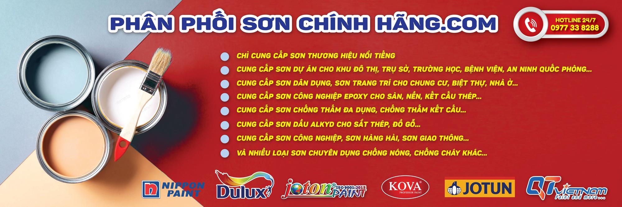 Tổng Phân Phối Sơn Chính Hãng Kova, Nippon, Joton, Jotun, DuluxToàn Miền Bắc - Phanphoisonchinhhang.com
